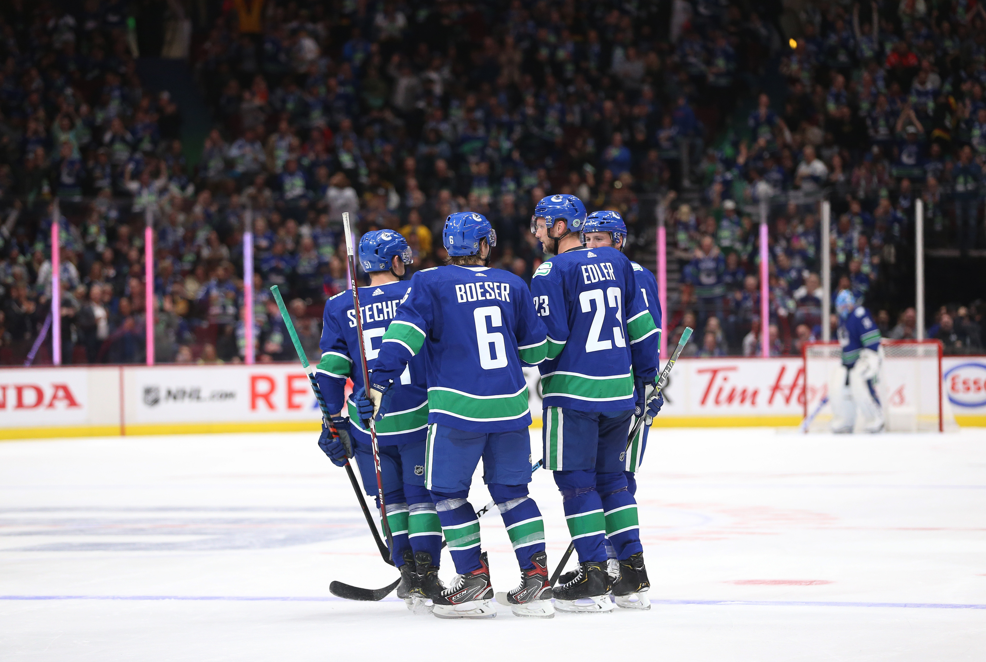 Canucks would have been a tough first round playoff for anybody