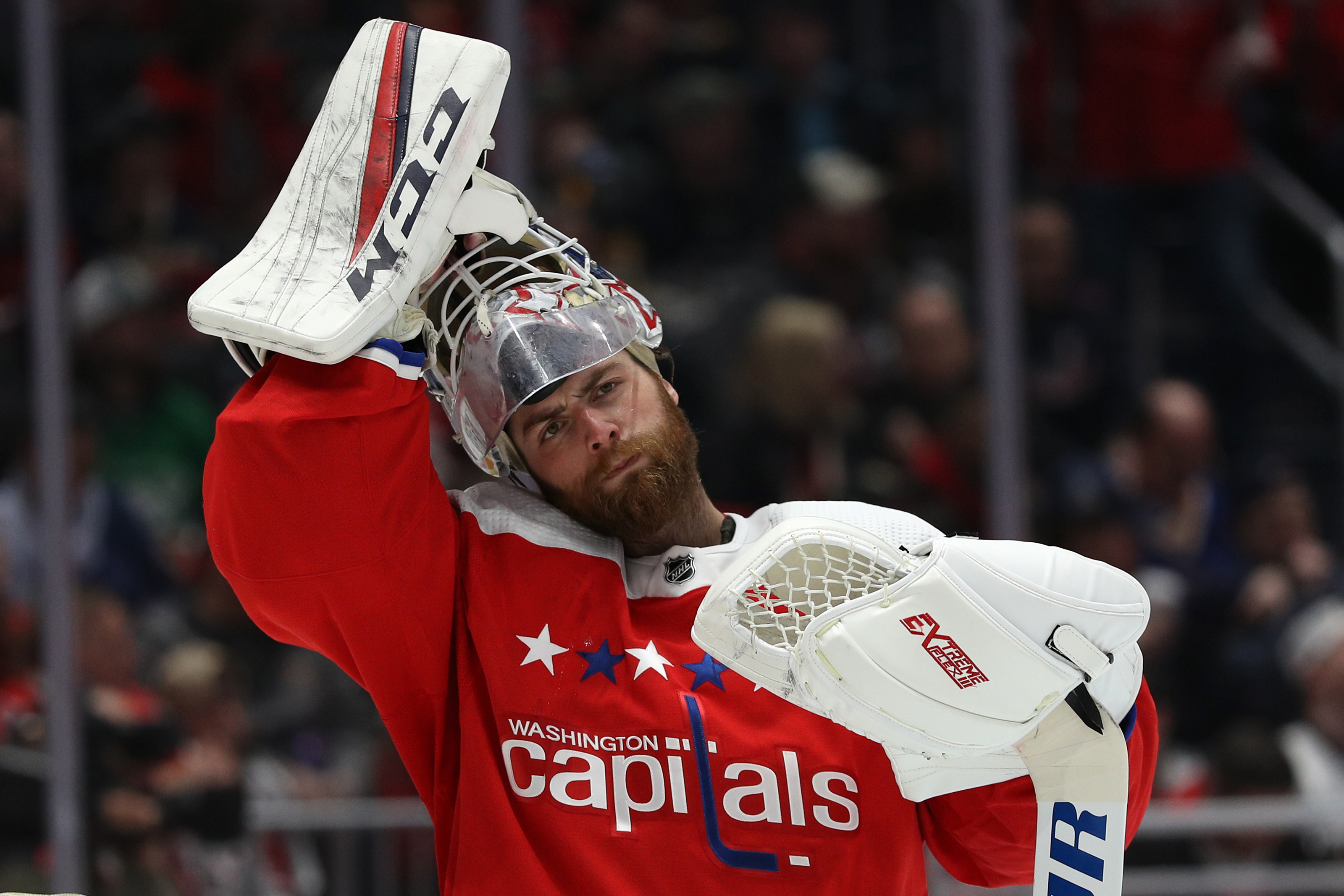 Should Canucks Target Braden Holtby If They Lose Jacob Markstrom